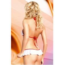 Costum-de-Asistenta-Lea-alb-cu-rosu