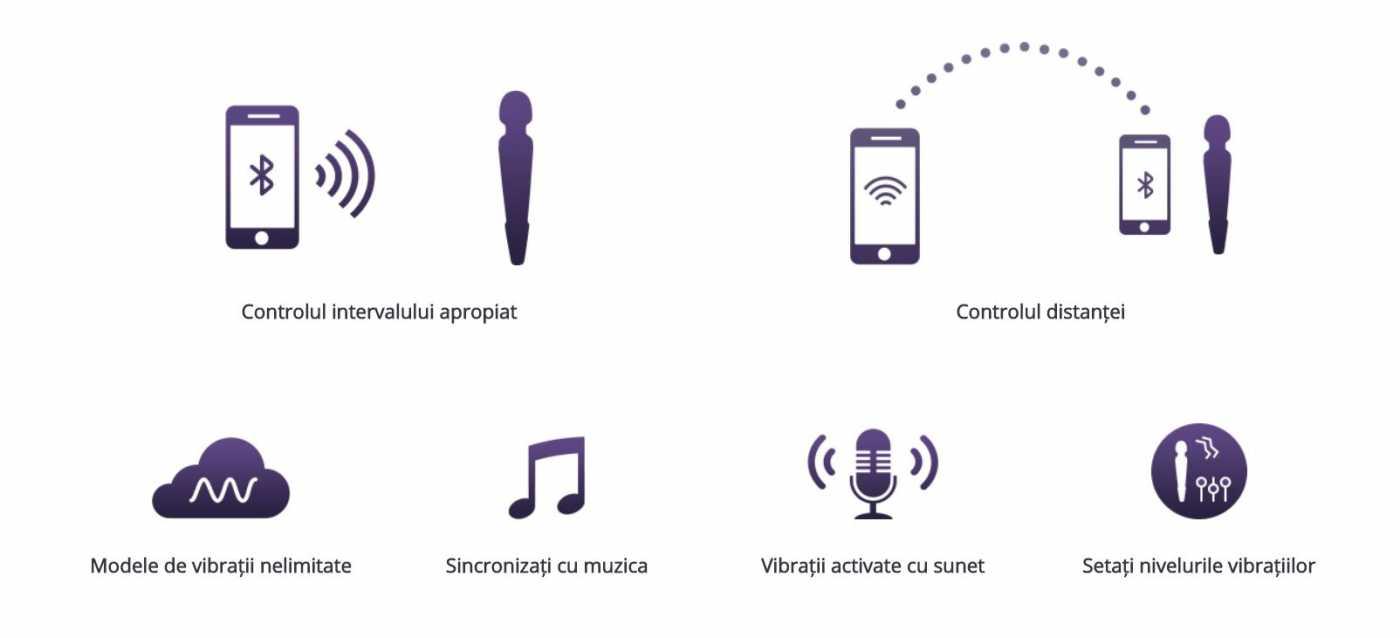 aplicatii wireless vibrator Lovense Domi
