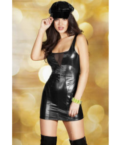 cr-3577-s-black-leatherlook-minidress-