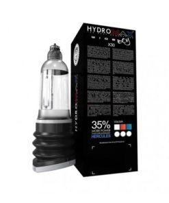 pompa hydromax x30 wide boy rosu albastru transparent
