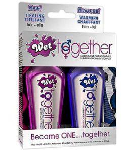 Lubrifiant Special Wet Together pentru Cuplu
