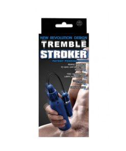 Masturbator cu vibratii din Silicon Tremble Stroker