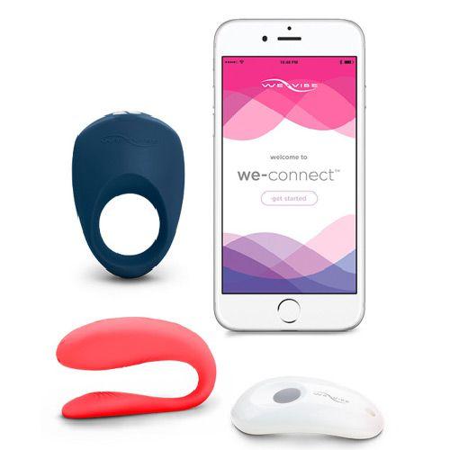 vibrator cuplu si aplicatie we-connect