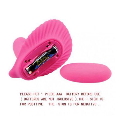 Stimulator Clitoris Pretty Love Shell roz