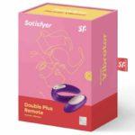 Vibrator Cuplu Partner Plus cu Telecomanda