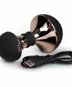 Vibrator pentru Masaj Enoki Vive negru