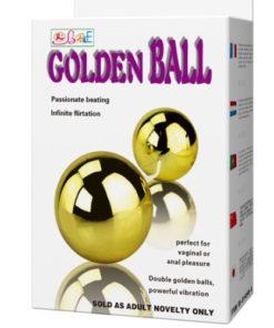 Bile Vaginale cu Vibratii Golden Ball ambalaj