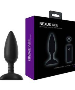 butt plug cu vibratii ACE Large Nexus