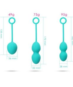 Set de bile kegel Nova Balls Exercisers Svakom dimensiuni