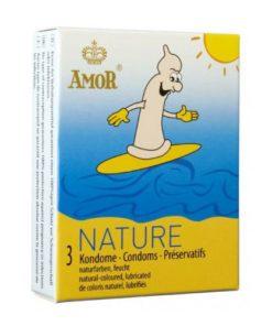 prezervative amor nature ambalaj