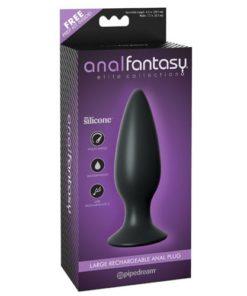 Butt plug cu vibratii Anal Fantasy Pipedream ambalaj
