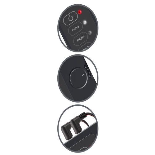 Set Shock Therapy Deluxe E-Stim Kit telecomanda