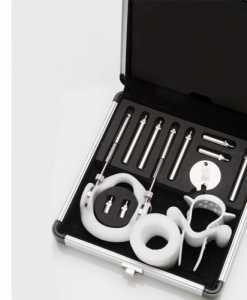 dispozitiv pentru marirea penisului JES Extender Titanium valiza deschisa