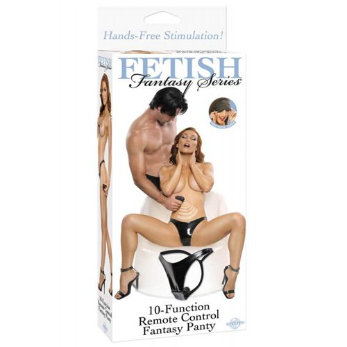chiloti cu vibratii cu telecomanda Fetish Fantasy Panty ambalaj