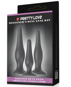 Set Butt Plug Beginner's Mini Anal Kit ambalaj