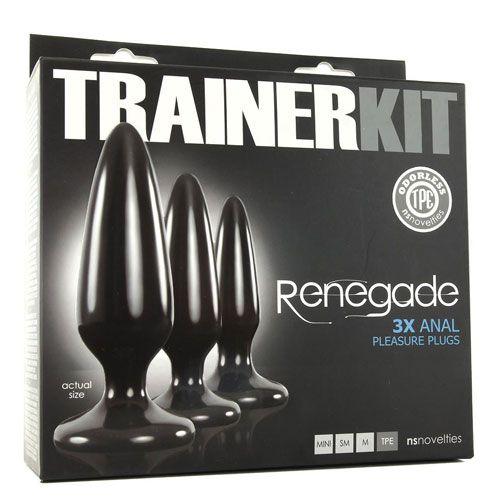 set butt plug Trainer Kit Renegade ambalaj