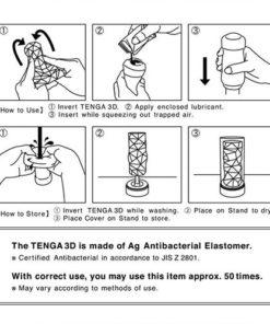 Masturbator Tenga 3D Pile