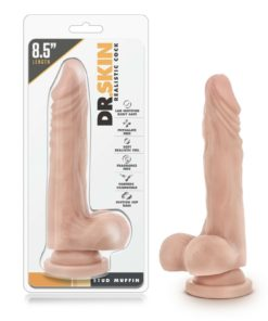 Dr. Skin Realistic Cock Stud Muffin Dong 8.5 Dildo