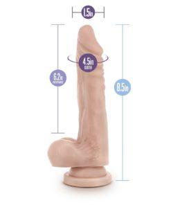 Dr. Skin Realistic Cock Stud usor curbat