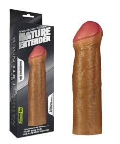 Prelungitor penis Revolutionary Silicone Nature Extender