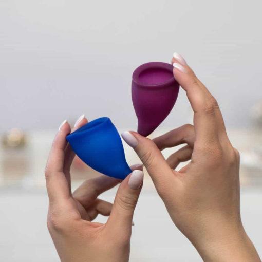 Cupa Menstruala din Silicon