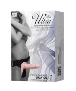 Strap-on dublu Ultra Passionate Harness sex shop