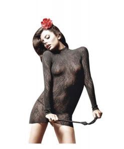 Rochie-Mini-Sheer-Suspenderhose-Baci
