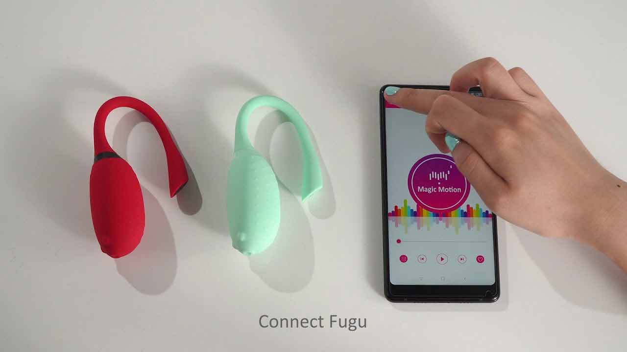 Ou-Vibrator-Smart-Elity-Cora-prin-aplicatie