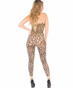 Catsuit Leopard footless Leg Avenue