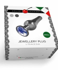 Butt Plug Jewellery Silver Dolce Piccante