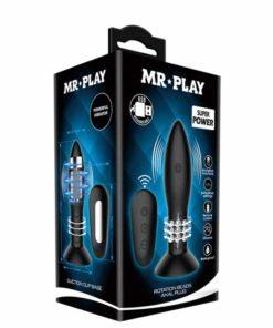 Butt Plug cu Vibratii Mr.Play Rimba