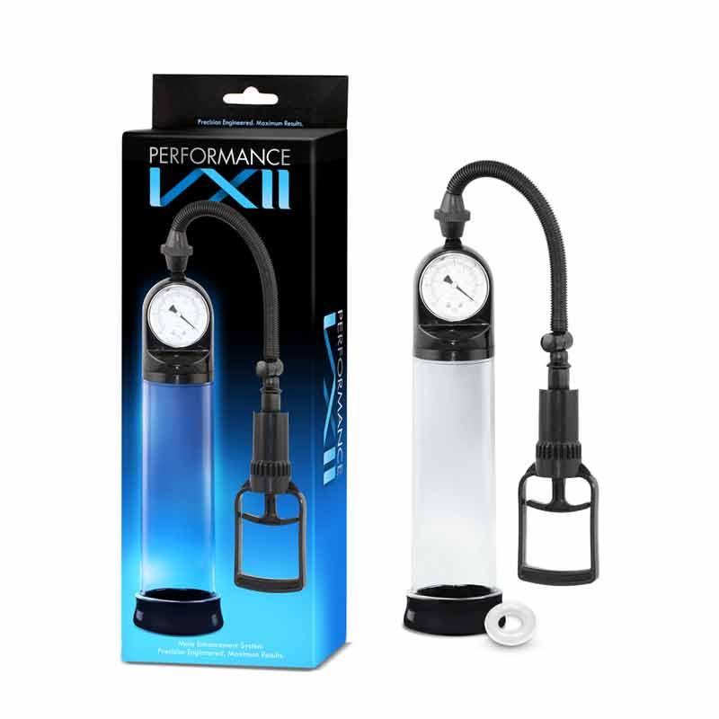 Pompa Vacuum Performance VX2 Blush este un sistem inovator, pentru imbunatatirea performantelor sexuale. Este compus dintr-un ecartament de precizie, o camera de vid, o pompa de declansare, un sigiliu mobil etans si un inel pentru penis. Reglati cantitatea de presiune cu manometrul de precizie, reglati intensitatea cu usurinta cu doar doua degete, declansati mânerul de control al pompei si deconectati-va cu supapa de eliberare rapida in caz de urgente. Sedintele de pompare cresc fluxul de sange in regiunea penisului, ceea ce poate stimula erectii mai ferme si de lunga durata. Pompa Vacuum Performance VX2 Blush poate, de asemenea, creste sensibilitatea, ajuta la antrenamentul la rezistenta si mareste temporar dimensiunea penisului. O singura sesiune de 10 minute iti poate ingrosa si prelungi penisul pana la 24 de ore. Mansonul detasabil din silicon ajuta la siguranta aspiratiei si a confortului maxim in timpul utilizari. Caracteristici: Diametru: 6.5 cm Lungime: 30 cm Material: Polycarbonat Culoare: Transparent Confort maxim Timp controlat Creste fluxul de sange in regiunea penisului Un produs de top adus in exclusivitate in magazinul nostru Sex Shop Online Inel pentru penis cadou