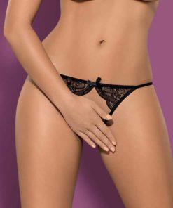 Bikini cu Dantela Miamor crotchless S/M
