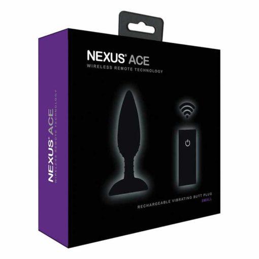 Butt Plug cu Vibratii Nexus Ace