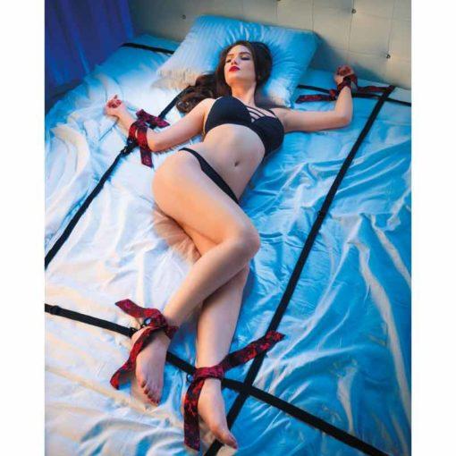 Set Catuse Fetish Scandal Bed Restraint