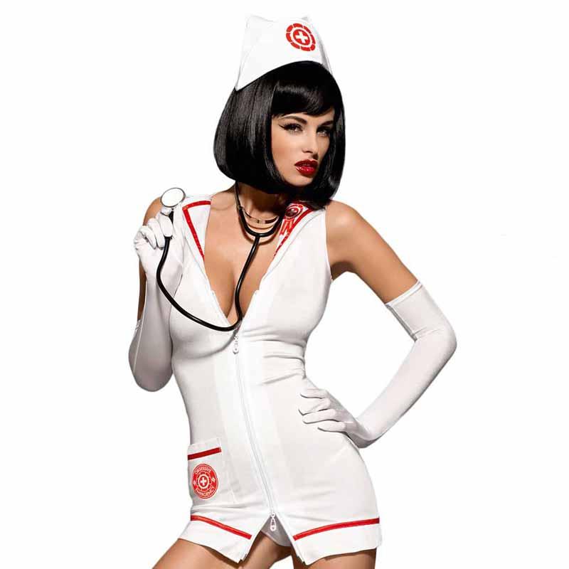 Costum de Asistenta Emergency dress S/M