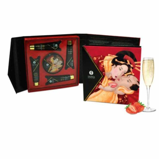 Set Cadou Geishas Secret Strawber Shunga