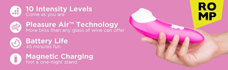 Stimulator Clitoris Romp Shine Pink