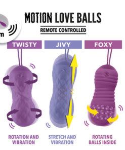Bile Vaginale Remote Controlled Twisty