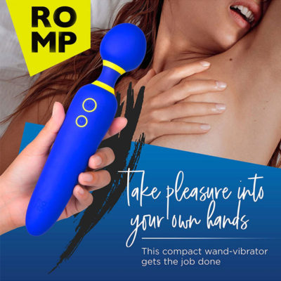 Vibrator Flip Romp Albastru