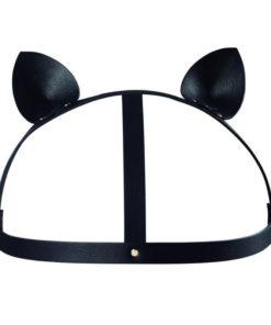 Ham Maze Cat Ears Black