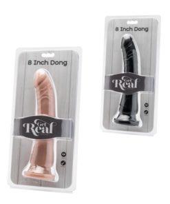 Dildo cu Ventuza Get Real 8