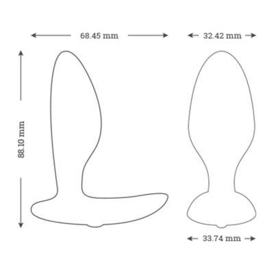 Butt Plug cu vibratii Ditto