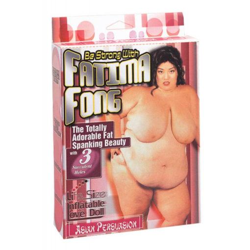 Papusa Gonflabila Fatima Fong