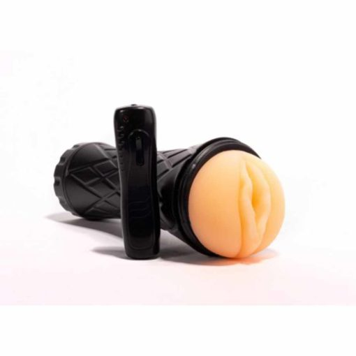 Pocket pussy masturbator vibration