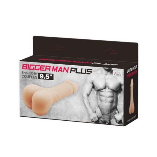 Prelungitor Realistic pentru Penis Bigger Man