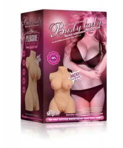 Masturbator Busty Lady Half Body Sex Doll