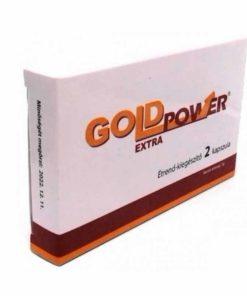 Pastile erectie Gold Power Extra
